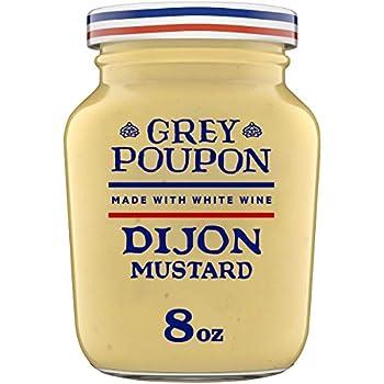 Grey Poupon Dijon Mustard  8 oz Jar