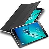 Cadorabo Tablet Hülle für Samsung Galaxy Tab S2 (8,0' Zoll) SM-T715N / T719N in Satin SCHWARZ – Ultra Dünne Book Style Schutzhülle mit Auto Wake Up und Standfunktion aus Kunstleder