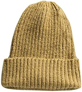 6b543d8674 DySm Hat Female Autumn And Winter Warm Wool Hat Men And Women Wild Korean  Version Of