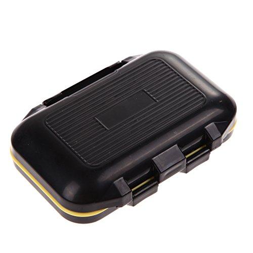 Caja de almacenamiento para aparejos de pesca de 12 celdas, resistente al agua, caja de herramientas multiusos que se puede utilizar de forma segura.
