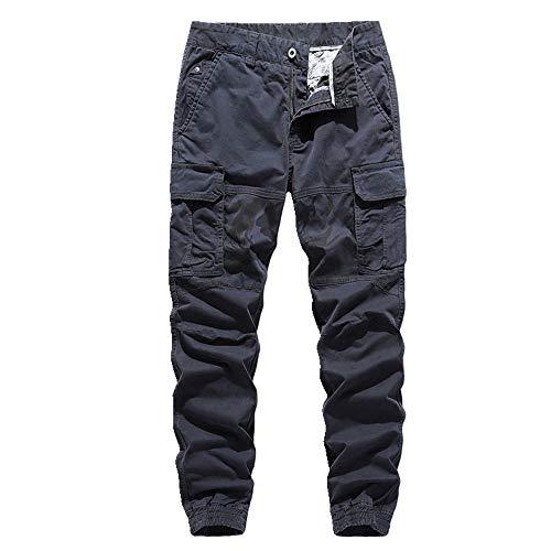 N\P Pantalones deportivos rectos de los hombres de camuflaje empalme monos de los hombres grandes de los hombres con patas casuales pantalones