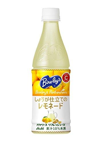 アサヒ飲料 バヤリース リフレッシャーズ しょうが仕立てのレモネード PET 430ml×24本