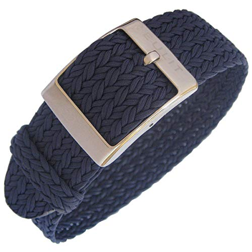 EULIT Palma 20mm Navy Blue Perlon Watch Strap