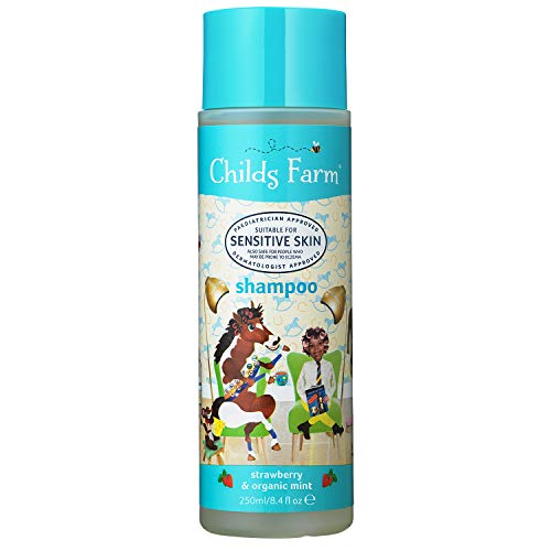 Childs Farm shampoo aardbeien & bio munt 1 Bottle