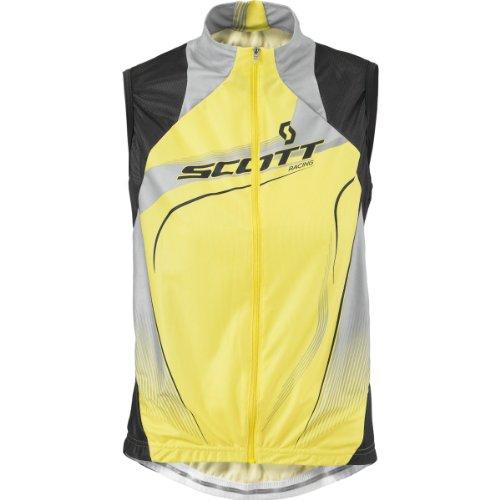 SCOTT 221597-107800 - Camiseta de ciclismo sin mangas para mujer, Mujer, color Yllw/Dk Gris, tamaño...