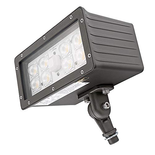 1000LED LED Flood Light High Lumens 70W 8,050Lm Daylight 5000K AC110-277V Waterproof IP65 UL DLC Listed for Wall Light Security Backyard Area