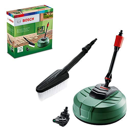 Bosch Home and Garden F016800611 Bosch Pressure Washer Home and Car Cleaning Kit (with patio cleaner, wash brush and 90 degree nozzle, in carton packaging)