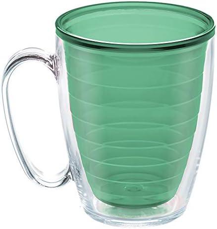 Tervis Clear Colorful Insulated Tumbler 16oz Mug Tritan Mangrove Green product image
