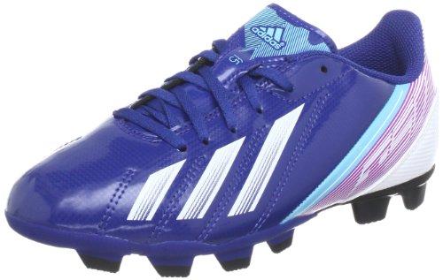 adidas F5 TRX FG J, Scarpe da Calcio Unisex – Bambini, Blu (Blau (DRKBLU/Runwht/VIVPNK), 35 EU