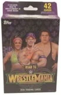 18 Topps WWE Wrestling Road to Wrestlemania Hanger Box Trading Cards