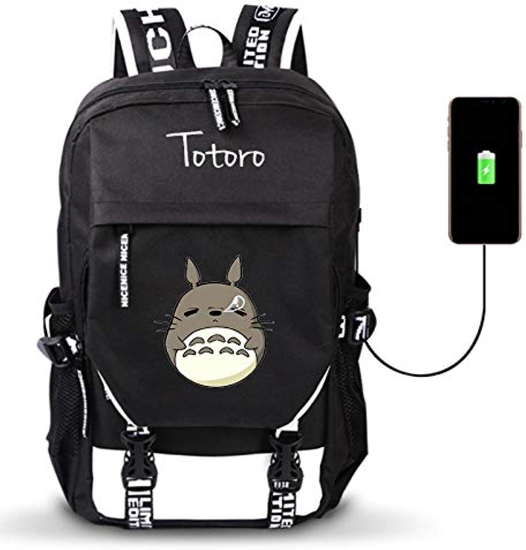 Unisex Outdoor Reiserucksack Reiserucksack Reiserucksack Mein Nachbar TotGold Anime Daypack Schulter Schultasche Laptop Rucksack mit USB-Ladeanschluss B07NTTYK9X  Sehr praktisch 87fe83