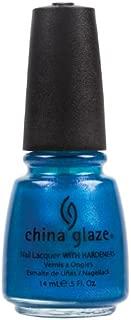 China Glaze Nail Polish, Blue Iguana, 0.5 Fluid Ounce
