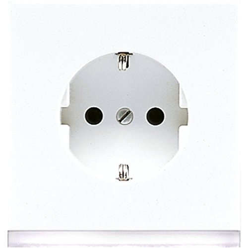 Jung LS520-OWWLEDW Schuko-Steckdose mit LED-Orientierungslicht