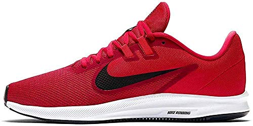 Nike Downshifter 9, Zapatillas de Running Hombre, Rojo (Gym Red/Black/Univ Red/White 600), 44 EU