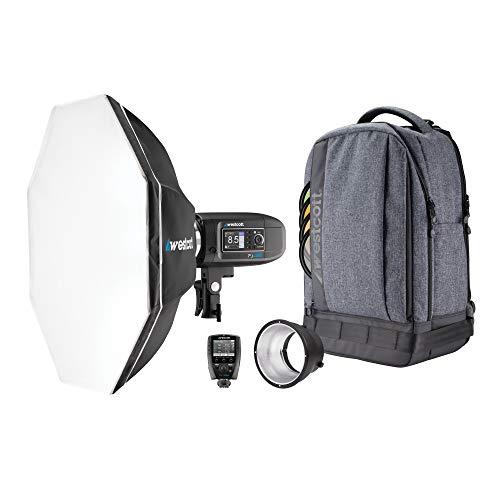 Westcott FJ400 Strobe 1-Light Backpack Kit with FJ-X2m Universal Wireless Trigger and...