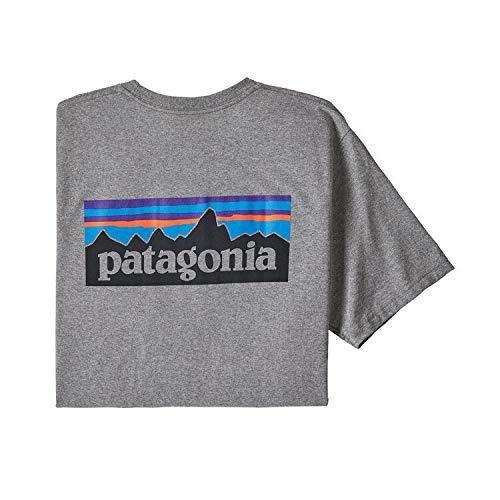 Patagonia M's P-6 Logo Pocket Responsibili-tee Camiseta, Hombre