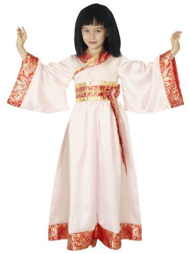 César - Disfraz de kimono japonés para niña, talla 8-10 años (D268-003)