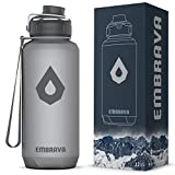 Embrava 40oz Water Bottle - Large with Travel...