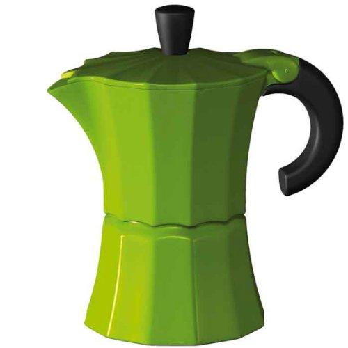Gnali & Zani MOR003 Morosina Coffee Maker 6 Tassen grün