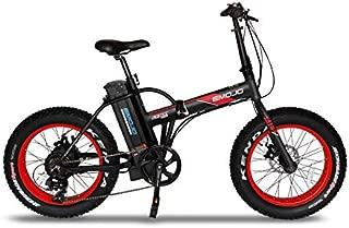 Emojo Lynx Folding Electric Bicycle 500W 36V or 48V E-Bike 20 X 4.0 Fat Tire Bike Beach Cruiser Foldable E-Bike for Burning Man