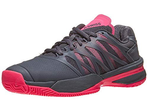 K-Swiss Performance KS Tfw Bigshot Light 3, Zapatillas de Tenis para Mujer, Negro (Magnet/Pink 43), 41.5 EU