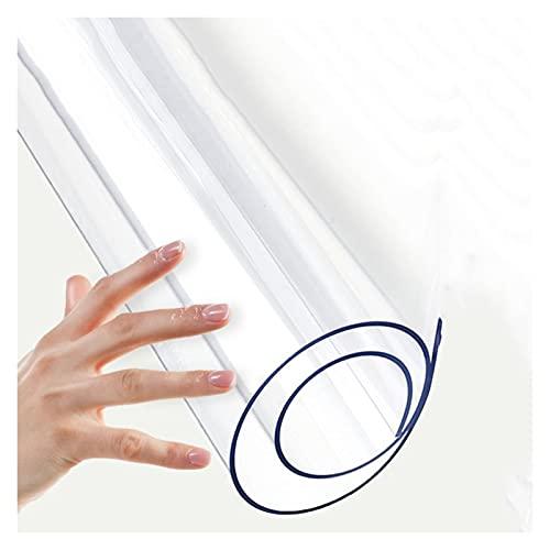 KUAIE Esteras para Sillas 1,5/2,0/3,0MM Alfombras de Piso Antideslizante Sin Rizar Alfombrillas Protectoras de Suelo, 51 Tamaños (Color : 3.0mm, Size : 80X100cm)