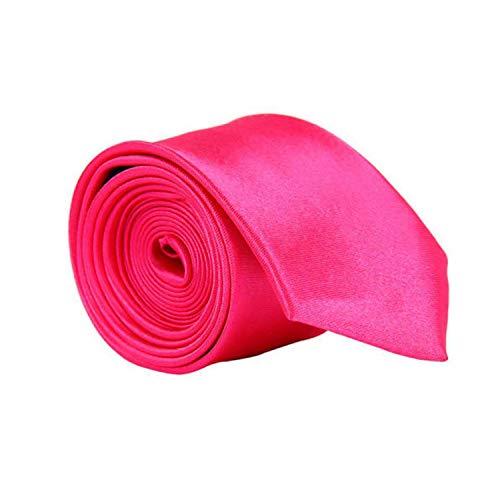 cravatte Nuovi Cravatte Formali Per Gli Uomini Classico Poliestere Raso Partito Cravatta Moda Larga 8 Cm Affari Da Sposa Maschio Casual Grav Rosa acce
