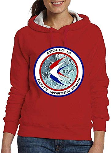 Apollo 15 Insignia Women's Fashion Adult Long-Sleeved Sweater