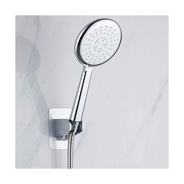 XGzhsa Soportes para cabezal de ducha, soporte de ducha de montaje en pared, 2 soportes de ducha de montaje en pared…