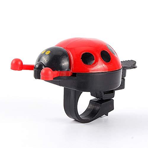 minifinker Niños Bike Bell Ladybug, para niños, para Scooter
