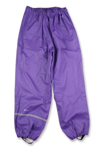 Celavi Unisex Kinder Regen-hose, Violett, 120 cm