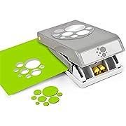 EK Tools PSN L RD Confetti DOTS 54-30275, Silver