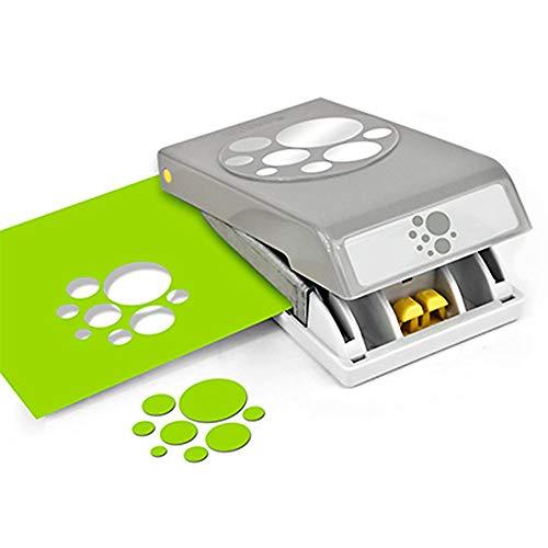 EK Tools PSN L RD Confetti DOTS 54-30275