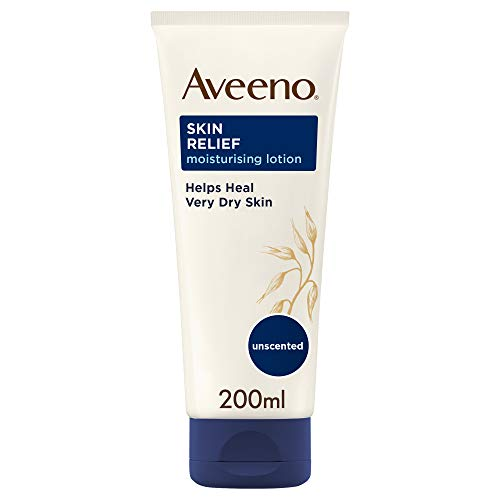 Aveeno Skin Relief lotion – for dry and itchy skin