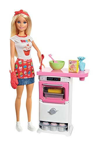 Barbie Chef de Pastelitos Set de Juego
