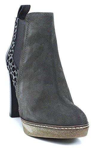 Maripe Stiefelette High Heel grau topo Animal metallic, Farbe:grau;Größe:40