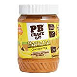 PB Crave Banana Chocolate Chip Peanut Butter Spread - 16 Ounce Each