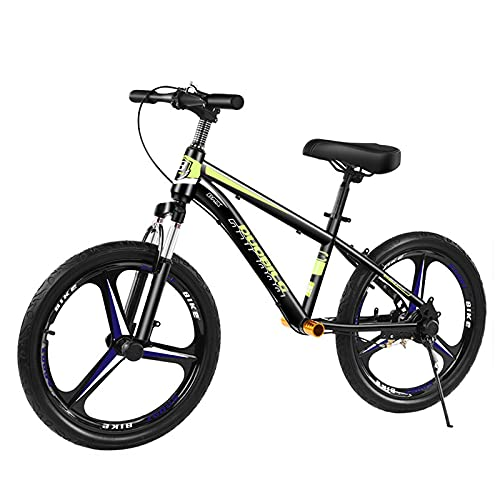 HWF Bicicleta Sin Pedales Equilibrio 16 Pulgadas / 18 Pulgadas / 20 Pulgadas Niño Grande Bicicleta de Equilibrio con Frenos de Disco, para Adultos/Entrenador/Adolescentes/niño/niña, Sin Pedal Bici
