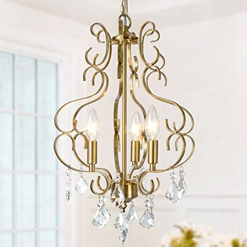 KSANA Crystal Chandelier Chandelier Light Fixture in Gold Plated K9 Crystal Modern Chandeliers product image