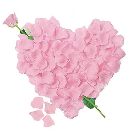 3000 Pétalos de Rosa Artificiales Rosada de Seda, Decoración Romantica para el...