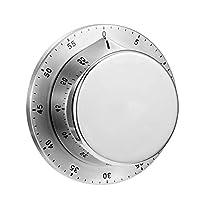 timer da cucina meccanico, cucina in acciaio inox con temporizzatore manuale base magnetica meccanica cooking countdown timer cucina gadget, per il lavoro domestico in classe