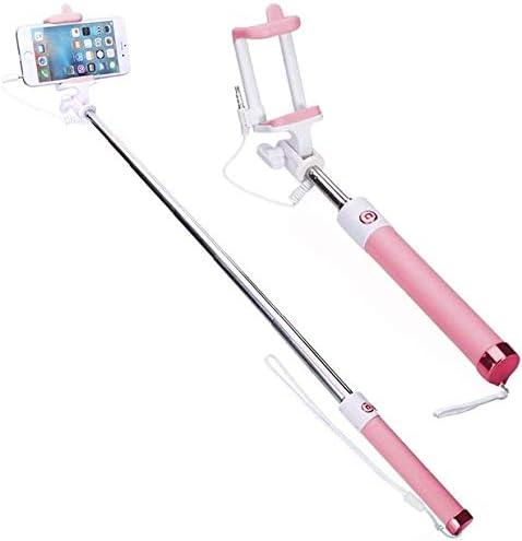 Compact LG K7 Pink Extendable Aux S Self Selfie Cable mart Portrait New arrival