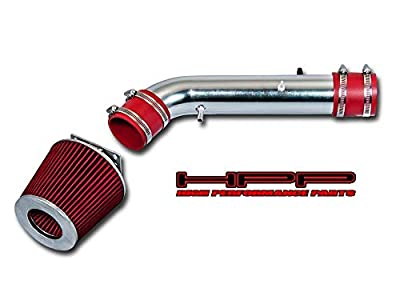 High Performance Parts Short Ram Air Intake Kit & Red Filter Combo Compatible for Toyota 96-99 4Runner / 95-99 Tacoma 2.7L L4 / 95-99 Tacoma 2.4L L4