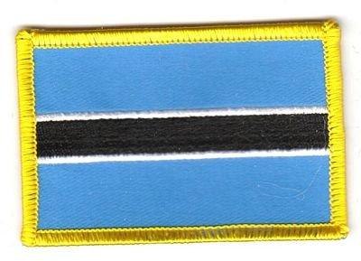 Flaggen Aufnäher Patch Botswana Fahne Flagge NEU