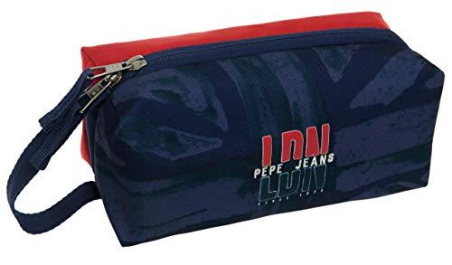 Plumier cuatro compartimentos extraíbles Pepe Jeans LDN
