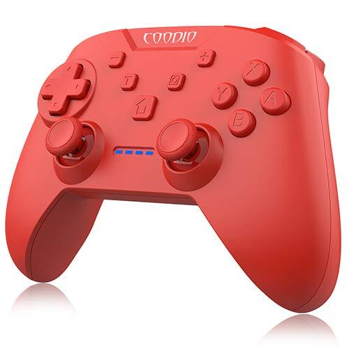 COODIO Mando Pro Controller Para Nintendo Switch, Mando Inalámbrico Switch, Wireless Bluetooth...