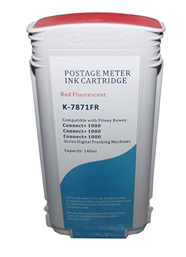787-3 Compatible Ink Cartridge for Pitney Bowes Connect 1000 Ink//Connect KLDink 4-PK 3000 High Yield 18000 Pages 2000 Ink//Connect