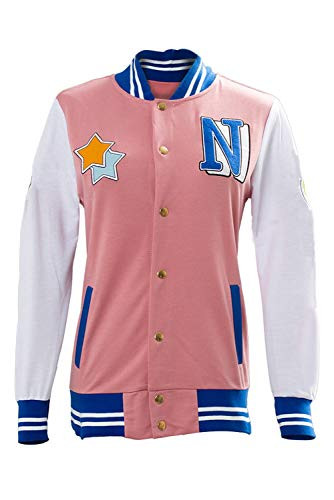 Ya-cos Free! Iwatobi Swim Club Nagisa Hazuki Nagisa Iwatobi High School Uniform Costume,Pink, Medium