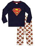 DC Comics Pijamas para Niños con Capa Superman Multicolor 3-4 Años