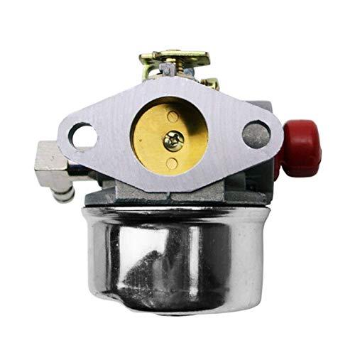 Highschool Timbre Carburador compatible para TORO 6.5HP GTS 22IN Reciclador Cortacésped Carb Engine 20370 Reemplazo 640173 640174 640262 640262A tornillos de carburador de motocicleta